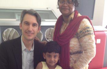 Dr. Levitin in India